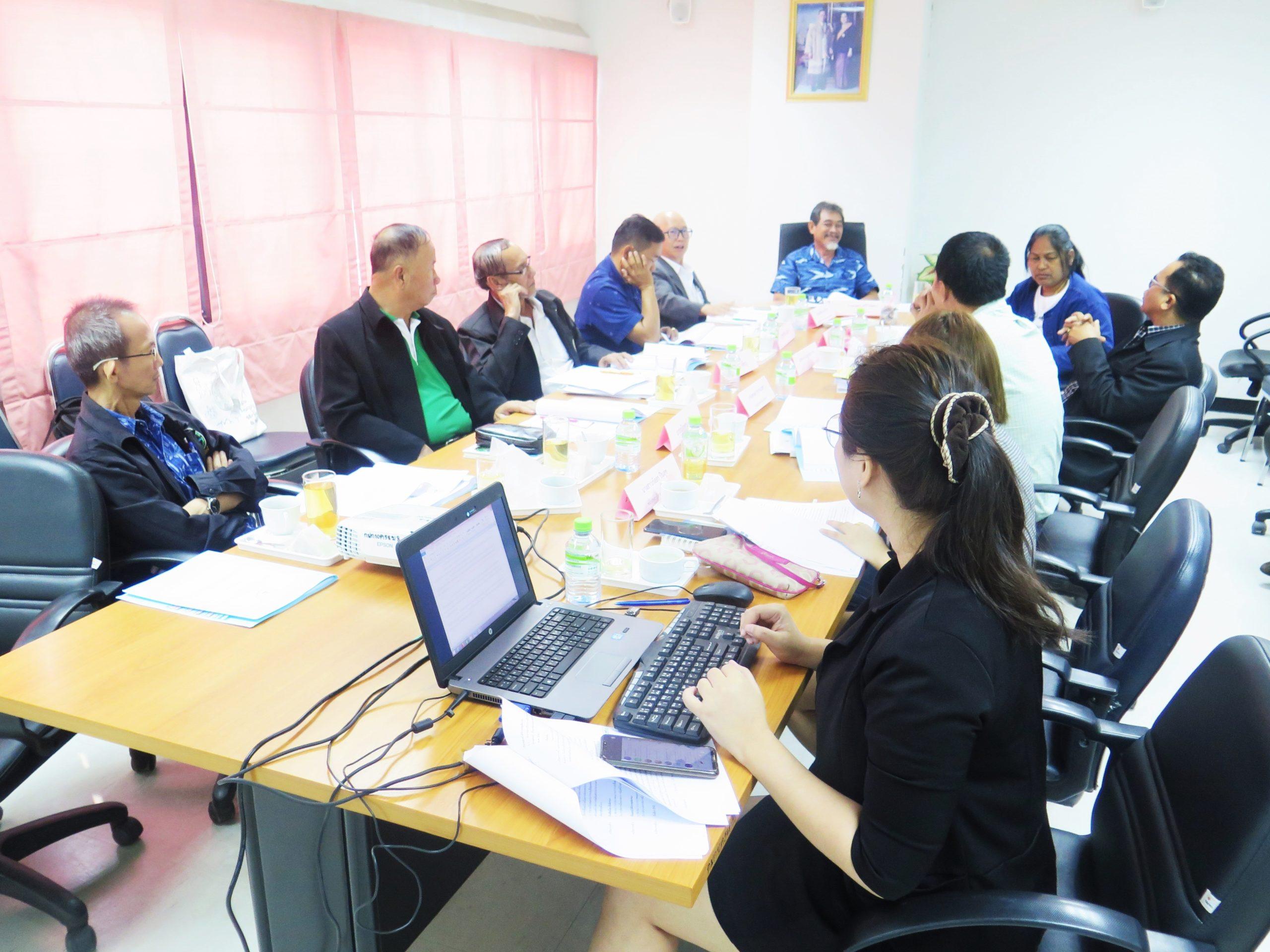 ประชุมคณะทำงานพิจารณา (ร่าง) ระเบียบ หรือประกาศที่เกี่ยวข้องกับการจัดการหนี้ของเกษตรกร