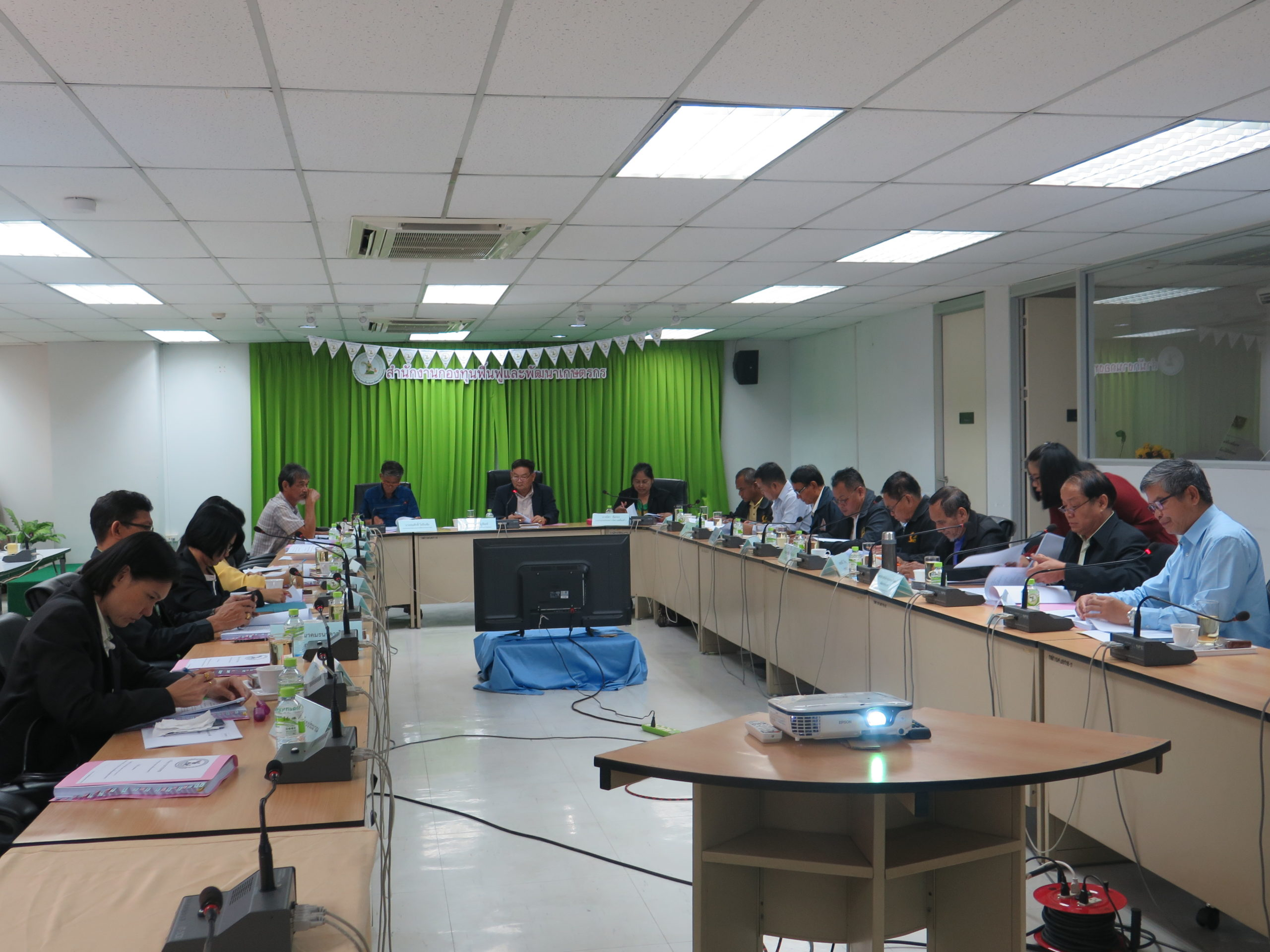 การประชุมคณะกรรมการจัดการหนี้ฯ ครั้งที่ 5/2563