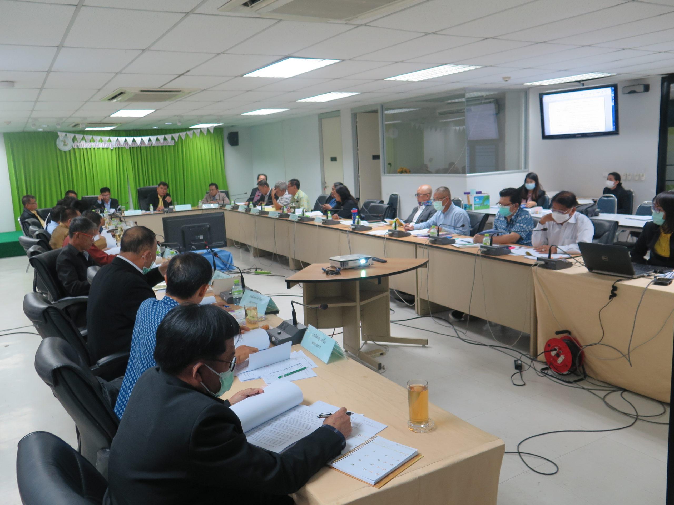 ประชุมคณะอนุกรรมการการมีส่วนร่วมเพื่อการผลักดันทางนโยบายฯ ครั้งที่ 2/2563