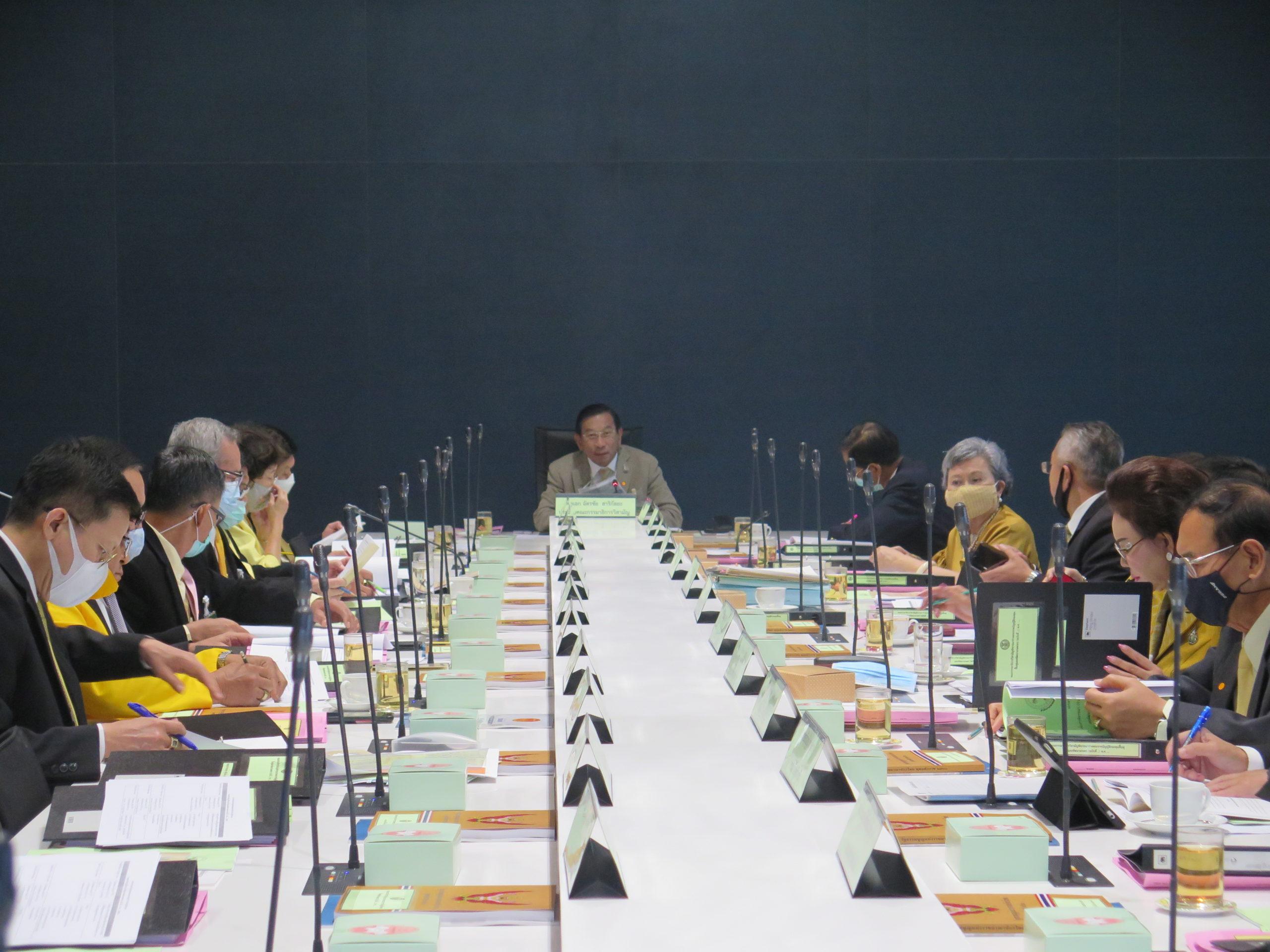ประชุมกรรมาธิการวิสามัญพิจารณา ร่าง พ.ร.บ. กฟก. นัดที่สอง หลังผ่านที่ประชุมวุฒิสภา